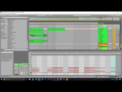 Making Melodic Dubstep in Ableton #7 (Track From Scratch) (1080p Test Also)