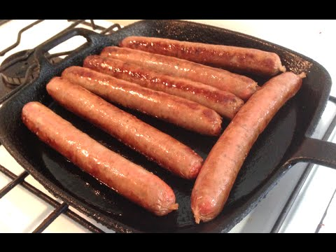 HOW TO COOK SAUSAGES - Greg's Kitchen