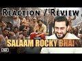 Reaction on SALAAM ROCKY BHAI Song   KGF Chapter 1   Yash   Prashanth Neel
