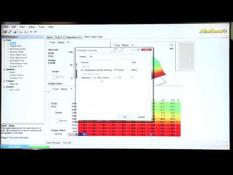 Haltech DIY: ECU Manager Software Setup