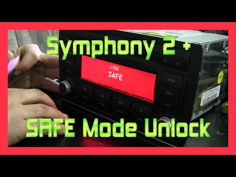 AUDI A4 / S4 B7 - Symphony 2 Plus SAFE Mode Unlock