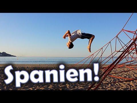 Die fahrt nach Spanien und flips am Strand!