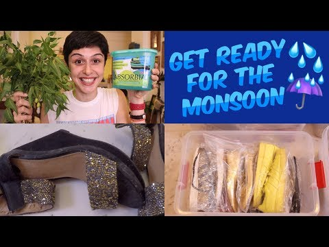 How To Get Ready For The Monsoon ☔️