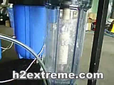 8 liter per minute prototype hho gen