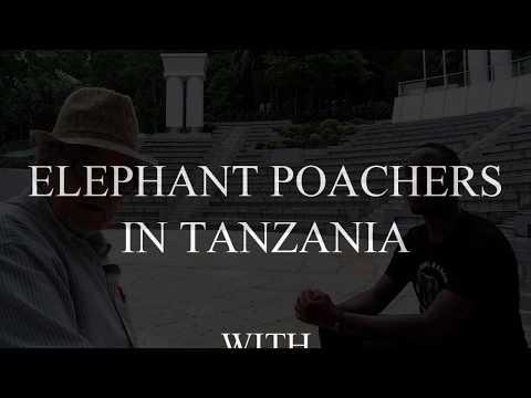 ELEPHANT POACHERS IN TANZANIA:STOP THE IVORY TRADE