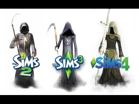 ♦ Sims 2 vs Sims 3 vs Sims 4: Death