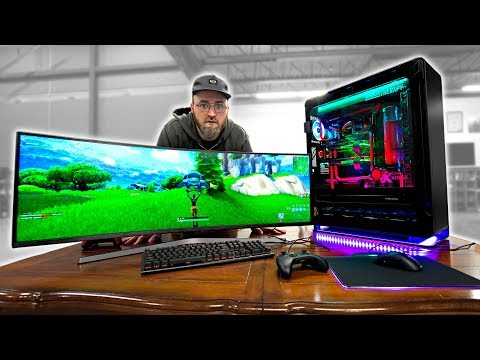 Fortnite on an INSANE $20,000 Gaming PC