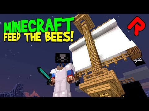 Freshwater Pirates! [FINALE]   Minecraft Feed the Beast Revelation   Feed the Bees ep 14