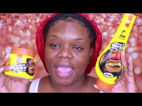 How to Properly use the GORILLA SNOT GEL with natural hair.