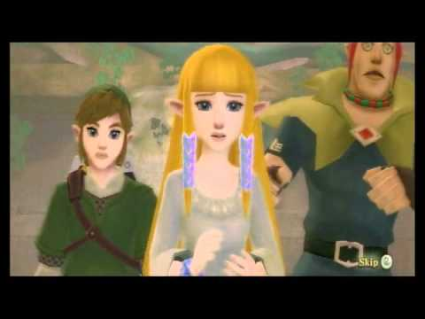 The Legend of Zelda: Skyward Sword - Demise Boss Fight and Staff Roll