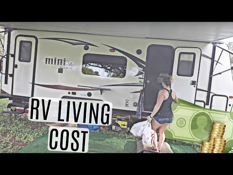 COST TO LIVE IN OUR RV TRAILER 💵