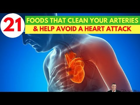 🍏🍉21 Foods That Are Clinically Proven To Clean Your Arteries & Help Avoid A Heart Attack or Stroke🍅🥑