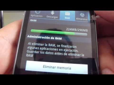 como ingresar administrador de aplicaciones samsung Galaxy ace S5830 español Full HD