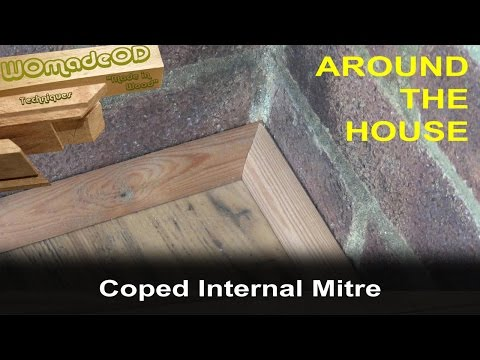 Baseboard / Quadrant Floor Trim 2 - Coped Internal Mitre