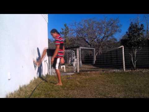 Wall Flip tutorial (How to do a wall backflip.)