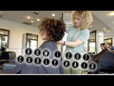 how i cut curly hair