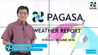 Download Public Weather Forecast Issued at 4:00 AM June 23, 2019 Video