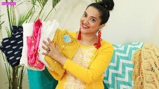 Myntra Festive कुर्ती सूट्स Haul | Suits Kurtis Footwear and more | Perkymegs Hindi