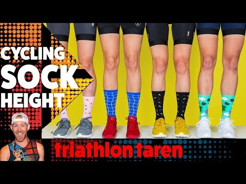 What YOUR SOCK HEIGHT says about YOU
