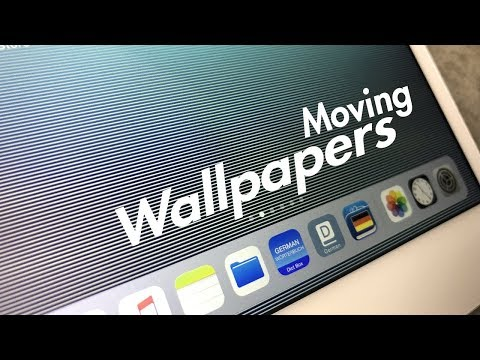 How to Get Moving Wallpaper on iPad -  3D Illusions in iOS 11