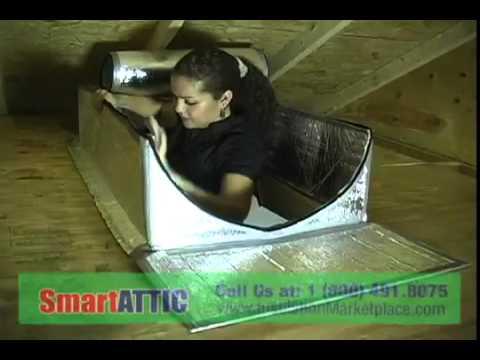 Attic Access Door, Attic Pull Down Stair Ladder Cover / Insulator