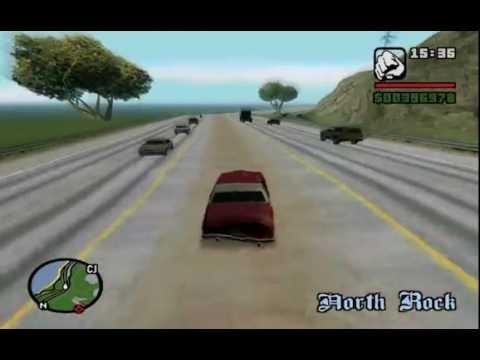 GTA SA - 100%. Part 32: Driving Skill and