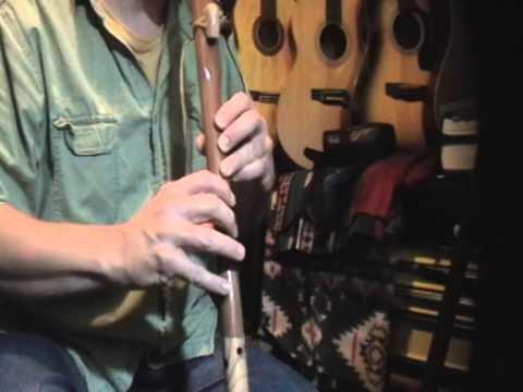 THE DARK SKY Native American flute through guitar amp Key of A