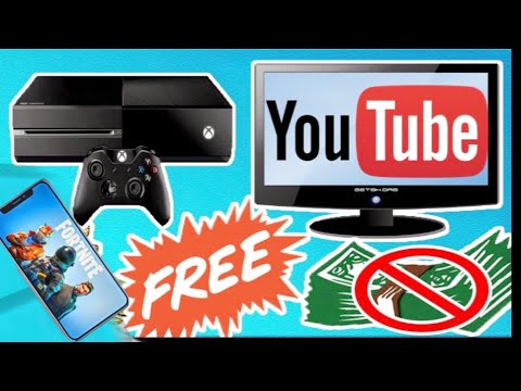 How to record xbox one gameplay with iPhone upload  to YouTube free fortnite mobile invite giveaway