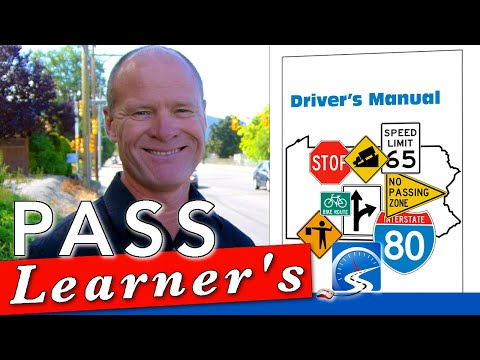 How to Pass a Driver's License Knowledge Test First Time