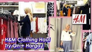 BELANJA BAJU DI H&M INDONESIA | CLOTHING HAUL MODEL BAJU MUSLIM HIJAB 2019