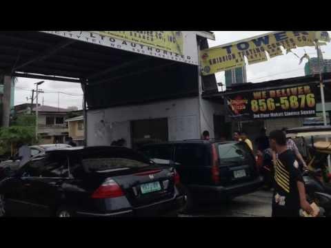 Tower Smoke Emission Testing Pertierra Street Makati by HourPhilippines.com