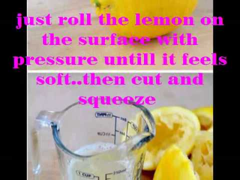 how to make lemon juice without juicer