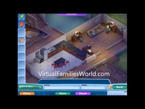 How To Start Over On Virtual Families 2 - Walkthroughs and Cheats