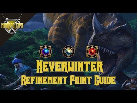 Neverwinter Refinement Point Farming Guide Mod 12b