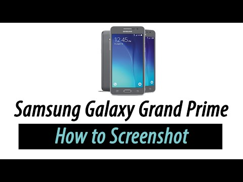 Samsung Galaxy Grand Prime | How to Screenshot