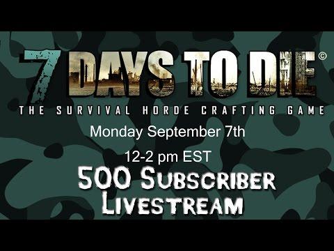 500 Subscriber Livestream
