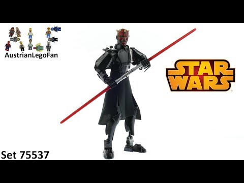 Lego Star Wars 75537 Darth Maul Buildable Figure - Lego Speed Build Review