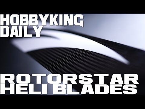RotorStar Premium Helicopter Blades - HobbyKing Daily