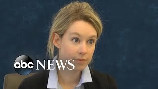Ex-Theranos CEO Elizabeth Holmes says