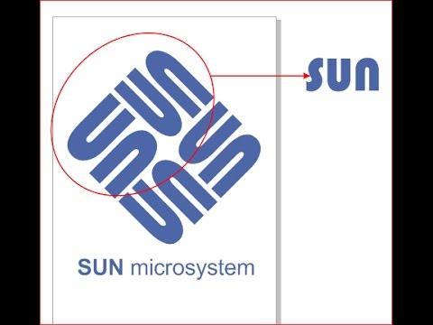 how easy to make LOGO SUN Microsystem (AMBIGRAM)
