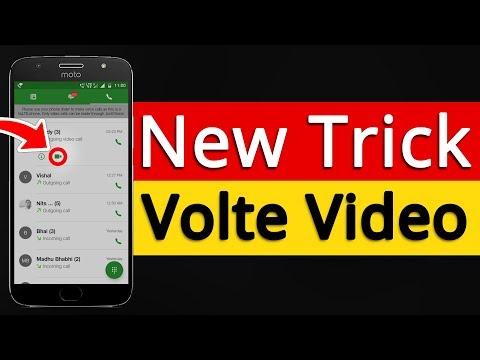 Moto G5S Plus Volte video calling | Enable Volte Video Calling | Step by Step[Hindi]