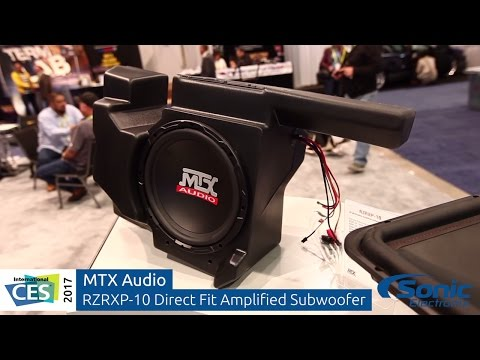 MTX Audio Polaris RZR Audio Upgrade Solutions   Direct Fit Speakers & Subwoofer   CES 2017