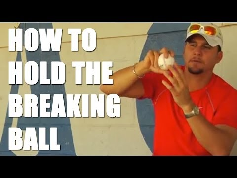 Baseball Tips: How to Hold the Breaking Ball with Rafael Betancourt