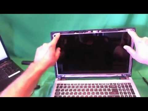 Acer Aspire V5 Laptop Screen Replacement Procedure