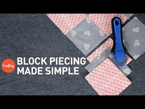 How to piece a quilt: 9-patch quilt block | Quilting Tutorial with Angela Walters