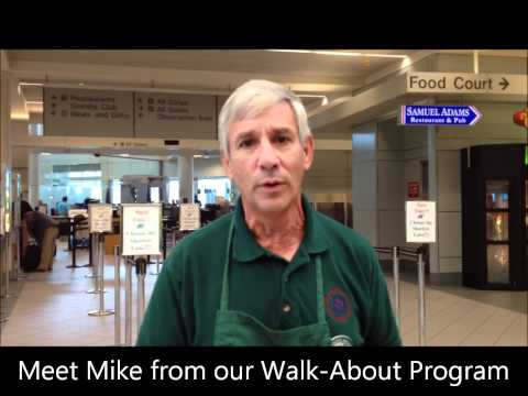 Walk-About with Granite State Ambassadors at Manchester-Boston Regional Airport