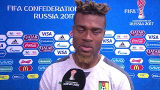Adolphe Teikeu Post-Match Interview - Match 11: Germany v Cameroon  - FIFA Confederations Cup 2017