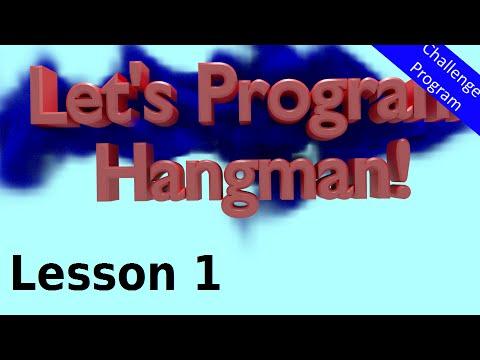 Let's Program Hangman - 1 - The .split() Method (Python 3.2.5)