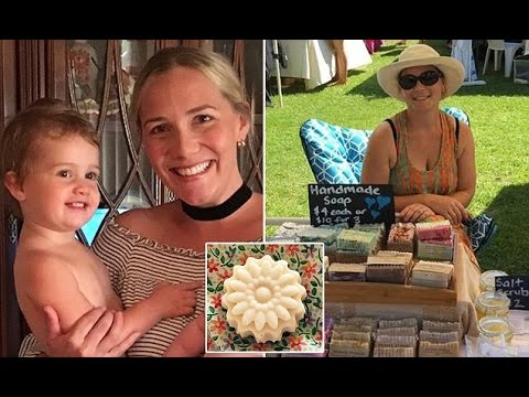 Mother who turned breast milk into SOAP says demand for the 'creamy and gentle' bar is now so great