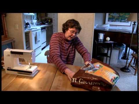 feed sacks to tote bags- part1